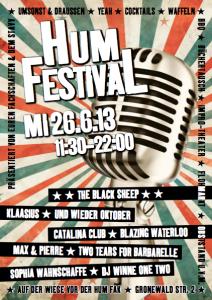 Plakat 2. HumFestival