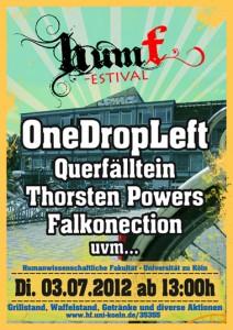 Plakat 1. HumFestival
