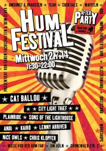 Plakat 3. HumFestival