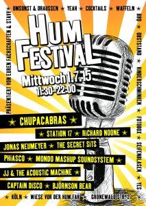 Plakat 4. HumFestival